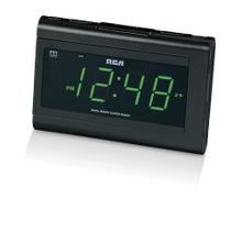 Dual wake clock radio