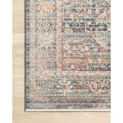 CLE-06 Blue / Sunset Rug