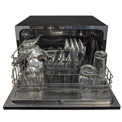6-Place Setting Countertop Dishwasher