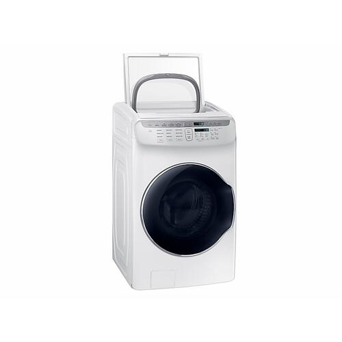 5.5 cu. ft. FlexWash™ Washer in White