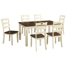 Woodanville Dining Table and Chairs (set of 7)