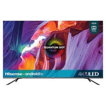 "50"" Class- H8G Quantum Series - Quantum 4K ULED Hisense Android Smart TV (49.5"" diag)"