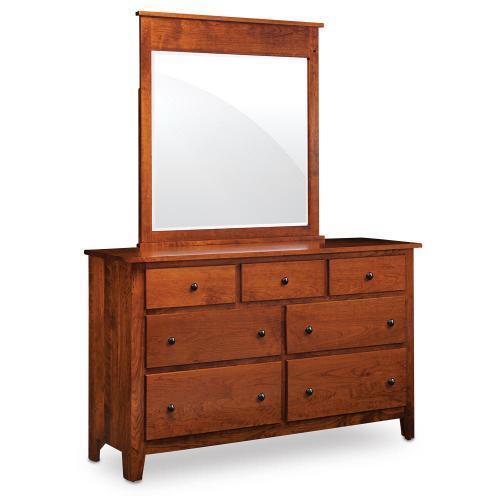 Simply Amish - Shenandoah 7-Drawer Dresser