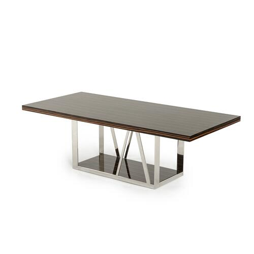 Modrest Sherman Modern Ebony Dining Table