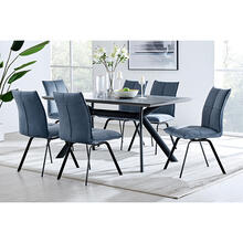 Product Image - Margot and Blue Rylee 7 Piece Modern Rectangular Dining Set