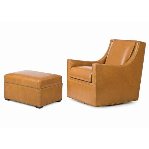 Rosemont Swivel Chair and Ottoman