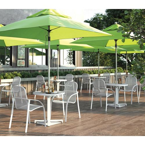 Cafe Chair (Stackable) - Metal