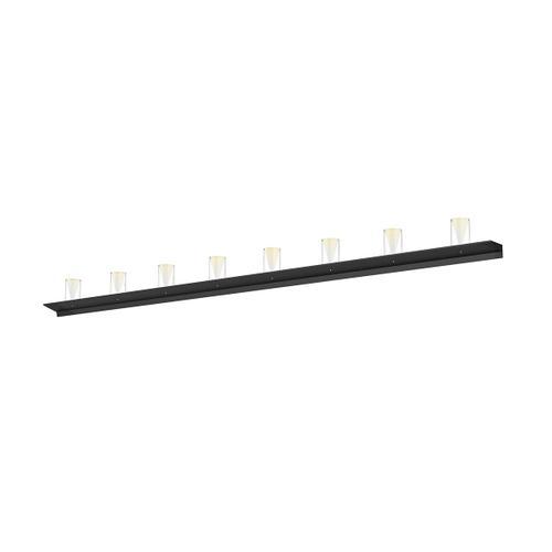 "Sonneman - A Way of Light - Votives LED Wall Bar [Size=8', Color/Finish=Satin Black, Shade Size=4.5"" height x 2.75"" diameter]"
