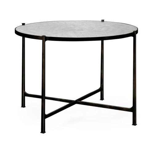 Transitional bronze centre table