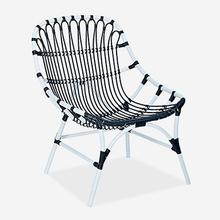 St. John Outdoor Chair - White/Black..