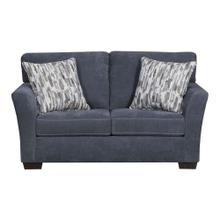 7058 Pacific Blue Steel Loveseat Only