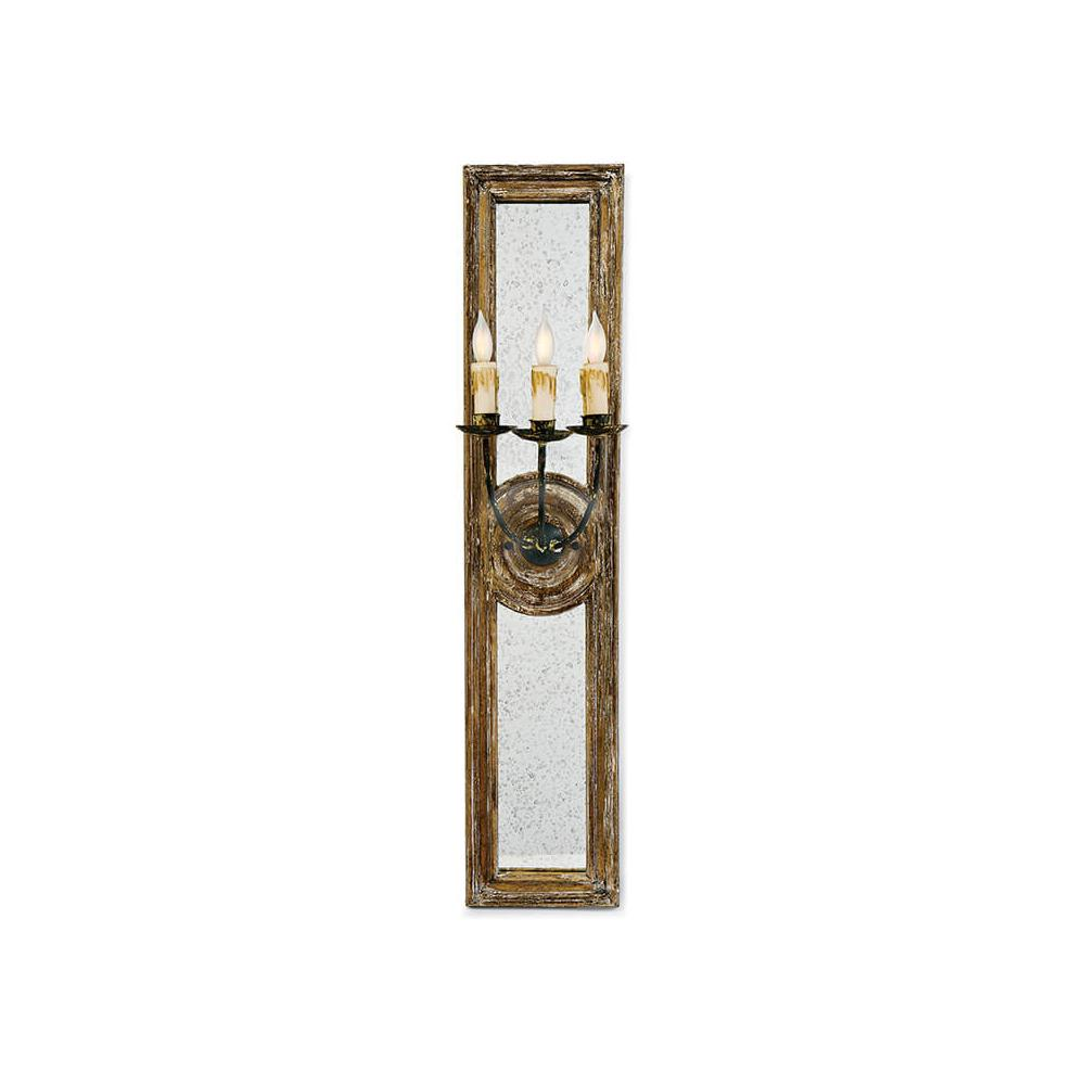 See Details - Three Arm Mirror Sconce (small)