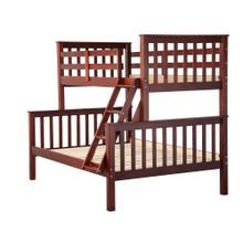 Mission Twin/Full Bunk Bed,Mahogany
