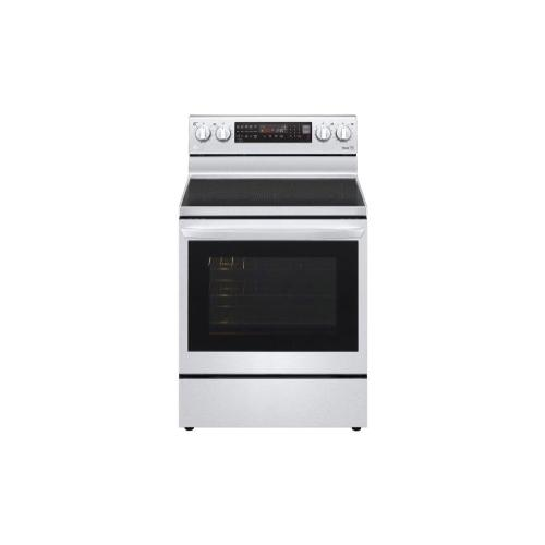 6.3 cu ft. Smart Wi-Fi Enabled True Convection InstaView™ Electric Range with Air Fry