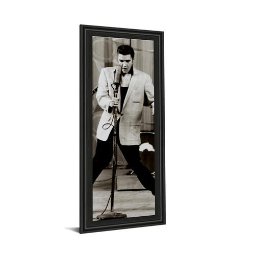 """The King"" By Anonymous Framed Print Wall Art"