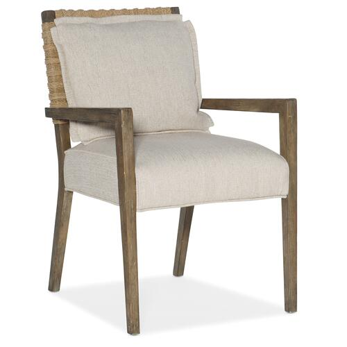 Sundance Woven Back Arm Chair-2 per ctn/price ea