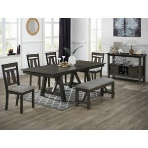 Maribelle Table Top Grey Brown