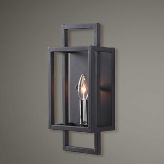 Quadrangle, 1 Lt Wall Sconce