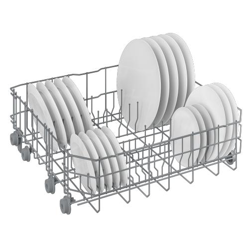 Beko - Tall Tub White Dishwasher, 14 place settings, 48 dBa, Top Control