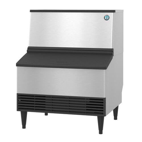 KM-301BWJ, Crescent Cuber Icemaker, Water-cooled, Built in Storage Bin