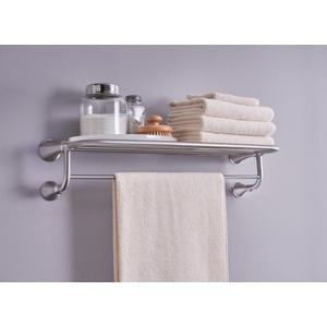 """Moen brushed nickel 24"""" towel shelf"""