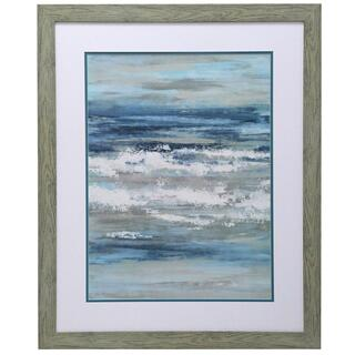 Waves of the Sea I Framed Print Under Glass