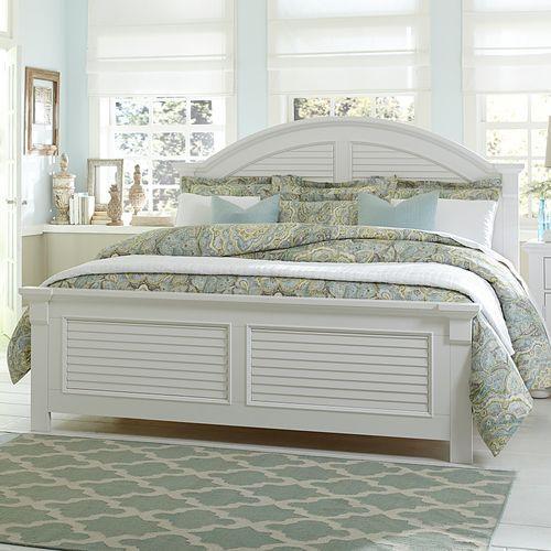 King California Panel Bed