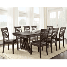 Adrian 9 Piece Set(Table & 8 Side Chairs)