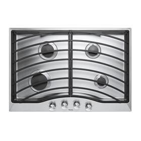 "Stainless Steel 30"" Continuous Grate Gas Cooktop - DGSU (30"" wide, four burners)"