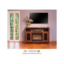 View Product - Fireplace & TV Stand w/2 doors & space for Soundbar system*