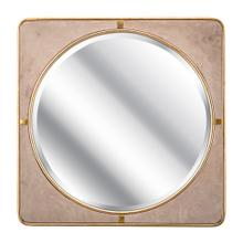 SG Suede Wall Mirror