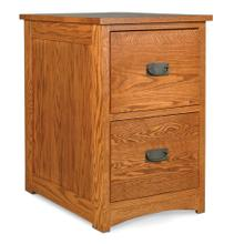 See Details - Prairie Mission 2-Drawer File Cabinet