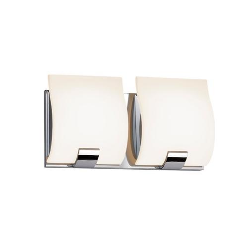 Sonneman - A Way of Light - Aquo LED Bath Bar [Size=2-Light, Color/Finish=Polished Chrome]
