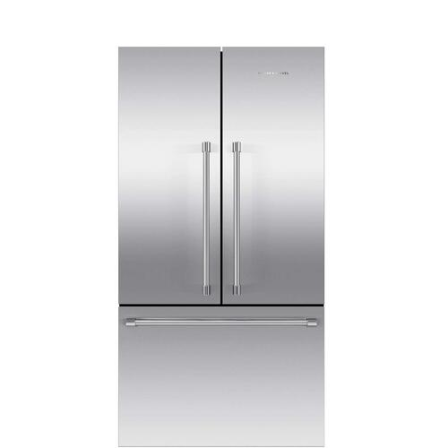 Fisher & Paykel - French Door Refrigerator 20.1 cu ft, Ice