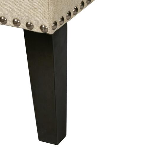 Uph Shelter Tuft Bench - Hemp Beige