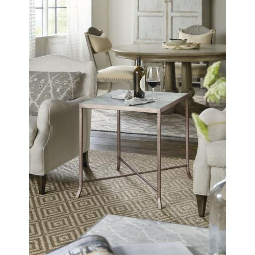 Product Image - Alfresco Lapilli Carved Top End Table