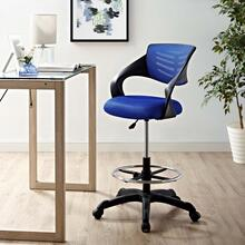 Thrive Mesh Drafting Chair in Blue