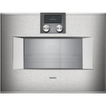 Gaggenau400 Series Combi-steam Oven 24'' Stainless Steel Behind Glass, Door Hinge: Right, Door Hinge: Right