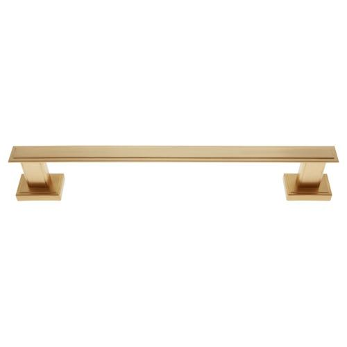 "Satin Brass Tahoe 12"" Towel Bar"