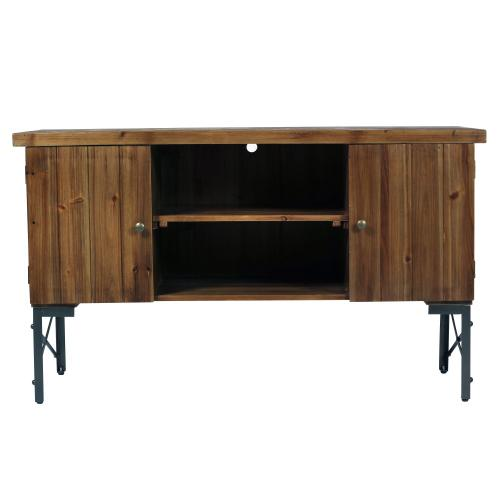 Emerald Home Chandler Sofa Table Pine Brown T100-02-05