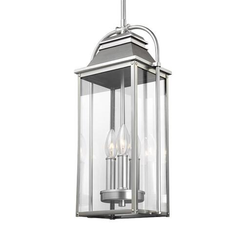Wellsworth Pendant Painted Brushed Steel