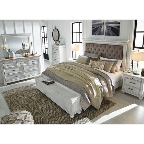 Product Image - Queen Panel Bed With Storage With Dresser
