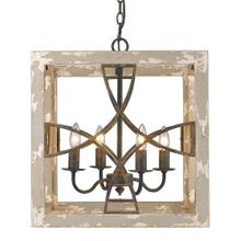 Morgan 4 Light Pendant