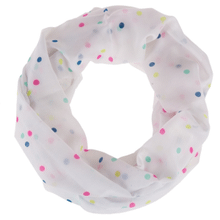 See Details - Polka Dots Infinity Scarf