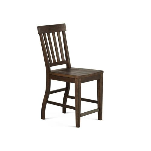 Gallery - Cayla Counter Chair, Dark Oak