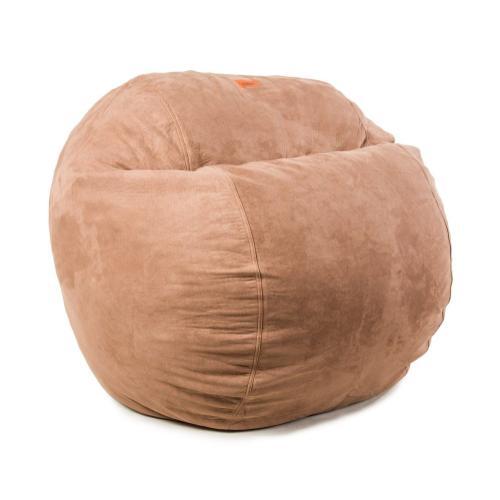 King Chair - Plush Microsuede - Chocolate