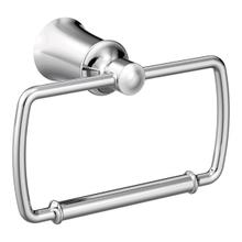 Dartmoor chrome towel ring