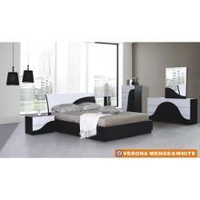 Verona - Wenge & White