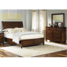 View Product - King Storage Bed, Dresser & Mirror