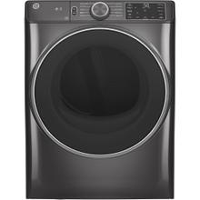 GE® 7.8 cu. ft. Capacity Dryer with Built-In Wifi Diamond Grey - GFD55ESMNDG